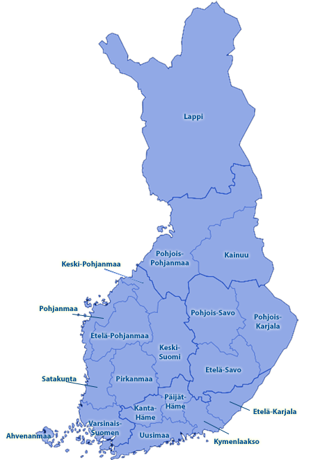 Suomi Muotikartta